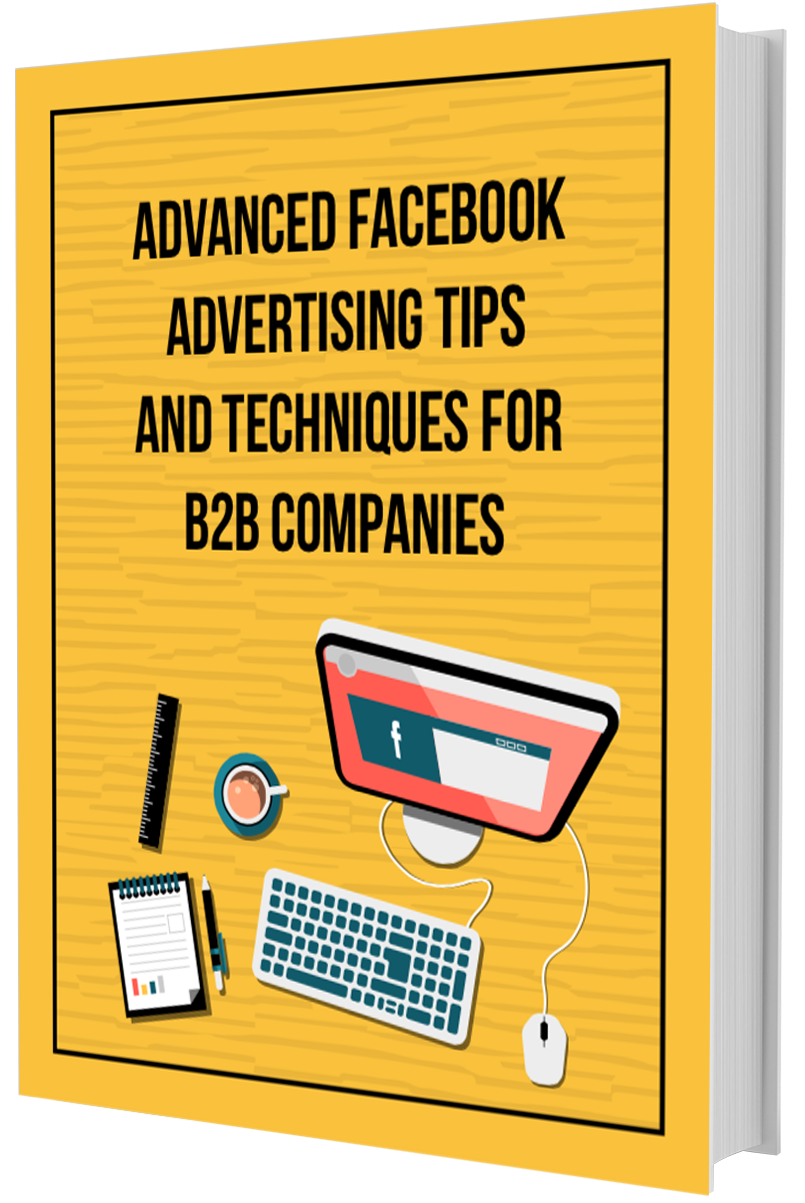 Facebook B2B advertising ebook cover
